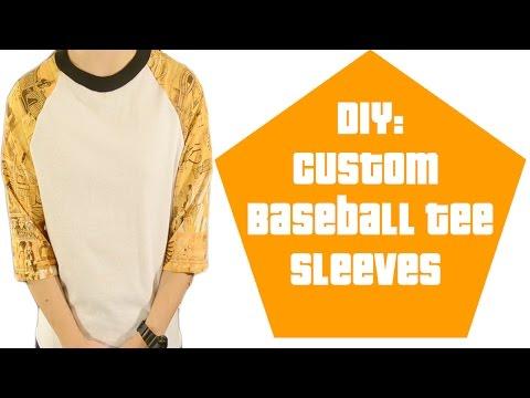 DIY: Custom Baseball Sleeves Tutorial | KAD Customs #35