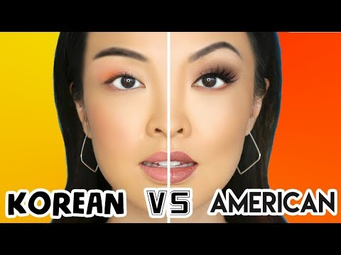 AMERICAN VS KOREAN MAKEUP (WHO WINS?)