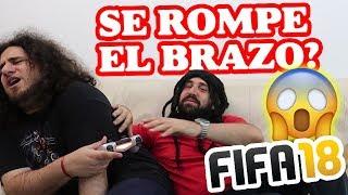 FESTEJO EN FIFA 18 SALE MAL *SE ROMPE EL BRAZO*