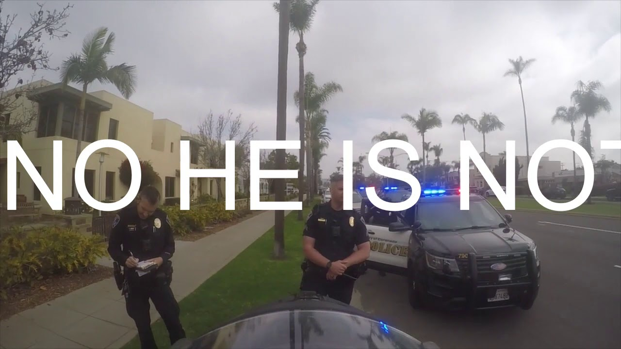 Officers getting owned