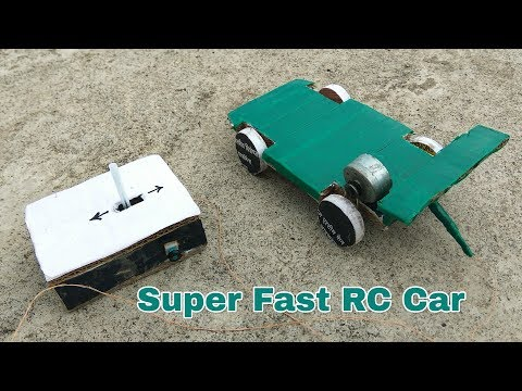 How to make a RC Car at Home very easy || Make Super fast Remote controlled Car