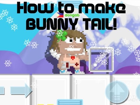 Growtopia - How to Make BUNNY TAIL!!