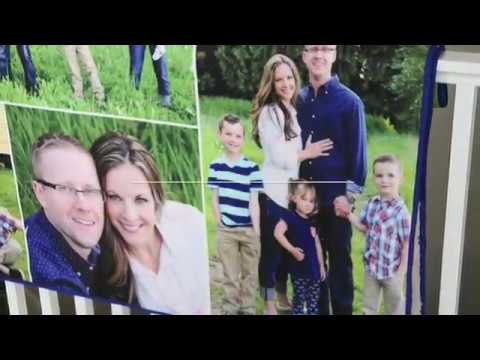 DIY Photo Blanket Made With Photoshop Elements 15