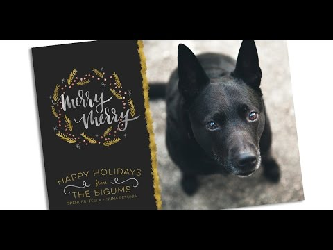 How to Create a Holiday Photo Postcard