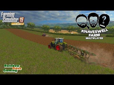 Farming Simulator 15 | Knaveswell Mutiplayer | #6 Seeding on Seeds