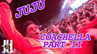 JuJu Mobs with the Crowd at Coachella:Day 2