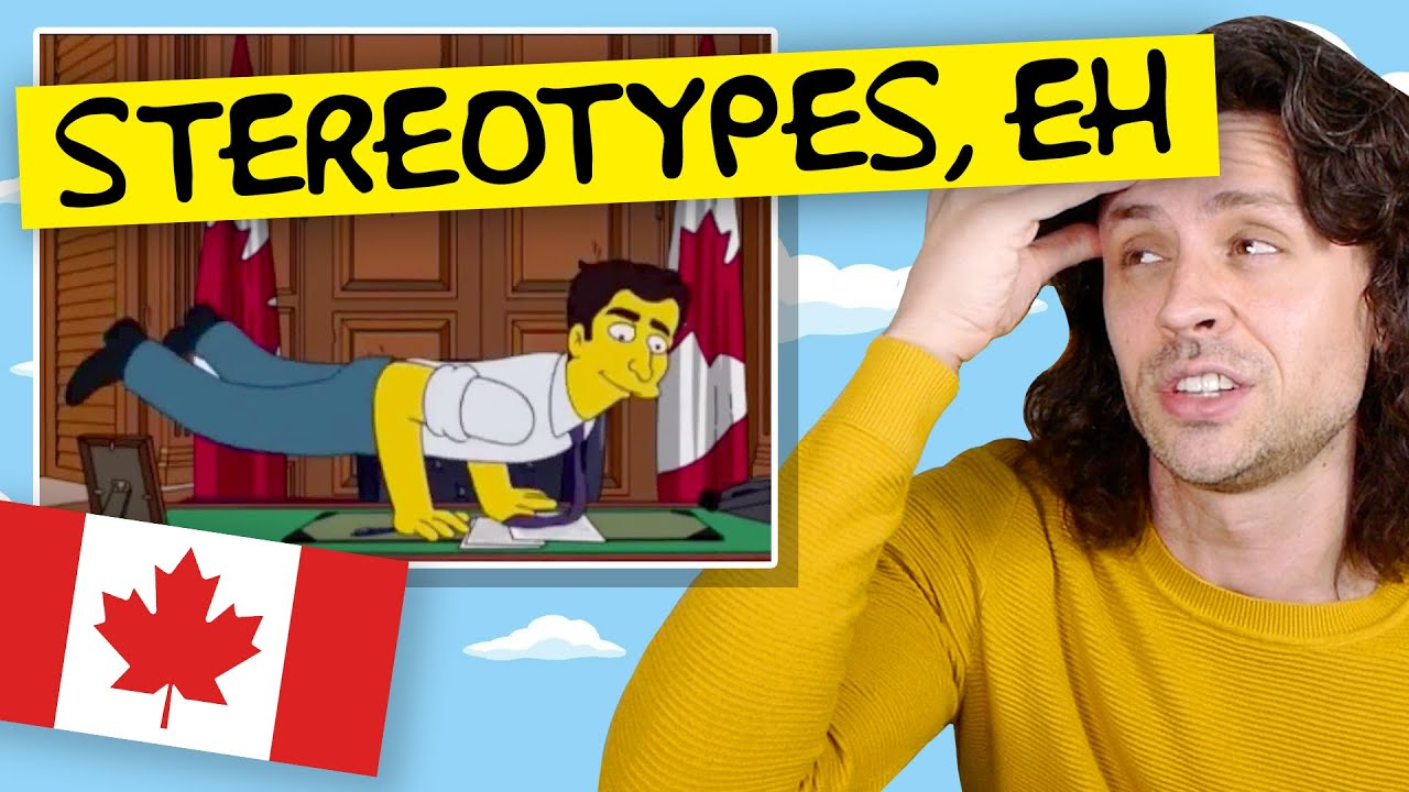 Canadian reacts to Simpsons depiction of Canada