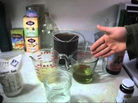 Liver Flush Recipe Epsom Salt Niacin Olive Oil Lemon Juice Coffee Enema