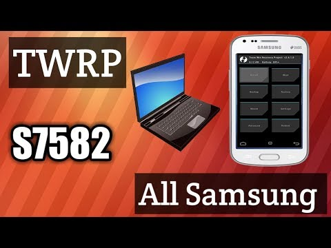 Samsung S Duos 2 s7582 TWRP Custom Recovery Install | This Method Work Any Samsung