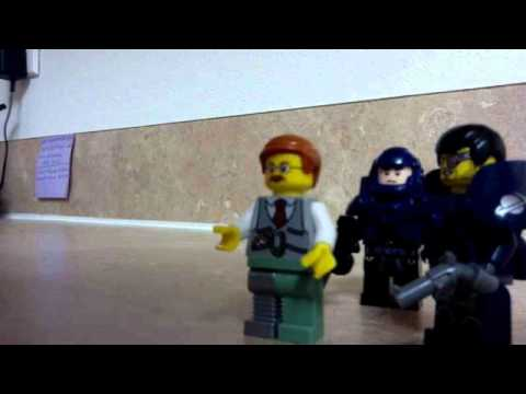 Lego Zombies:the crazy guy