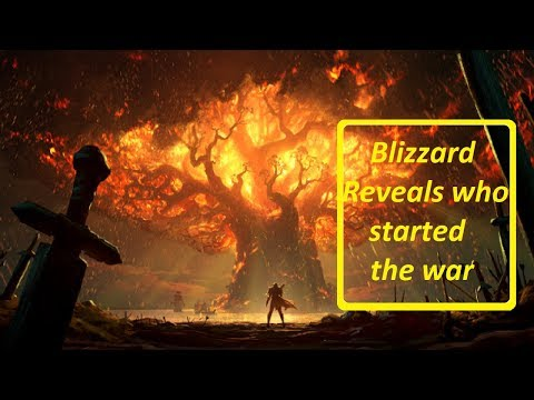 Blizzard Reveals Who Started the Battle in Battle for Azeroth