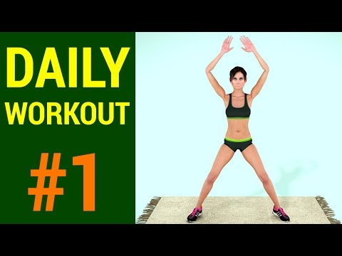 Daily Workout Routine: Day #1 (Fat Burner + Butt + Legs Exercises)