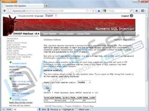 Java Secure Coding: Input Validation 2 3 SQL Injection