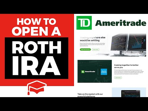 How To Open A Roth IRA At TD Ameritrade
