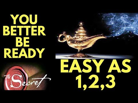 3 Step Process for INSTANT Manifestation (Law of Attraction Secret)