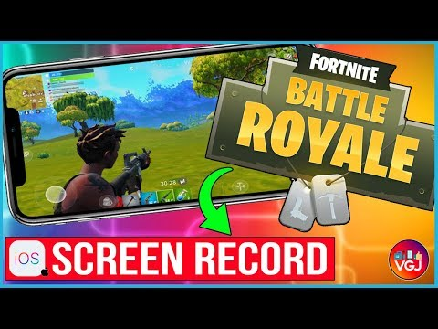 How to Screen Record Fortnite on iPhone: Beginner's Guide