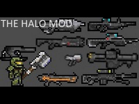 Обзоры модов для TERRARIA PC | HALO MOD