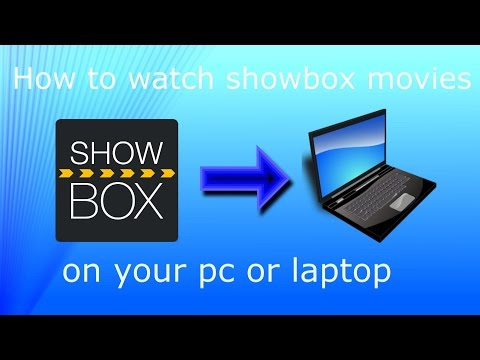 How to watch Showbox movies/TV Shows on your PC (Without Bluestacks)