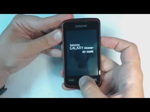 Samsung Galaxy Xcover S5690 hard reset