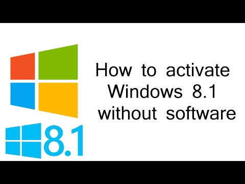 How to Activate Windows 8.1 without any software ✔