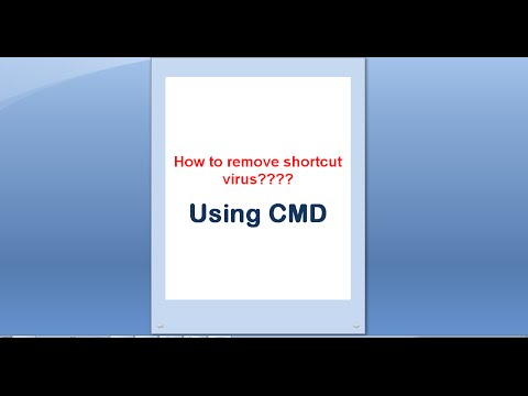 Easy way to remove shortcut virus from Computer