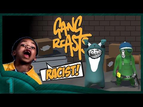 Gang Beast Funny moments - All levels!