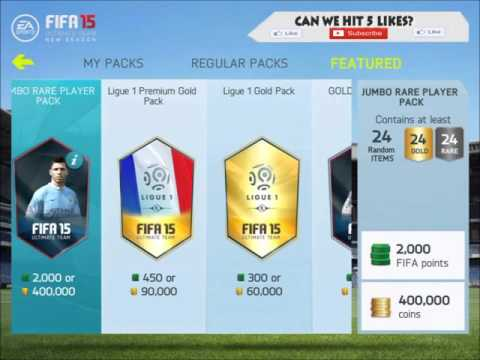 Fifa 15 NS IOS Glitch is Back! Unlimited Free Packs!!