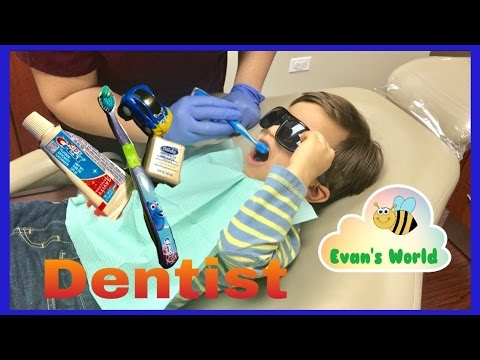 Dentist Appointment for Kids Teeth Cleaning Evan's World