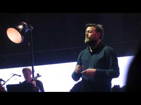 Elbow - The Night Will Always Win - LG Arena Birmingham 05,04,14