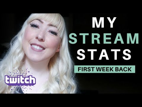 How To Audit Your Twitch Channel - Stats From My First Week Back!