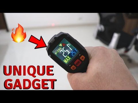 Unique Gadget | Cheap Infrared Thermometer Unboxing & Review | Tech Unboxing 🔥