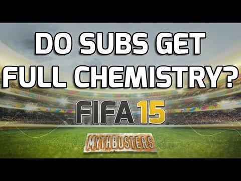 FIFA 15 - DO SUBS GET FULL CHEMISTRY? - Fifa 15 Mythbusters