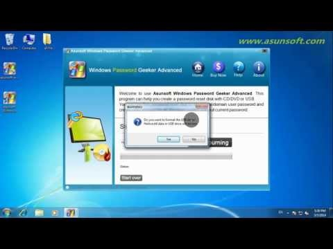 How to Unlock Windows 8 Password and Bypass Locked Logon Screen