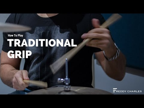 How To Play Traditional Grip On The Drums