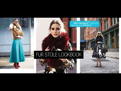 Fur Stole | How to Style Lookbook