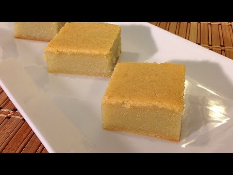 How To Make Butter Mochi-Sweet Rice Cake-Asian Food Recipes