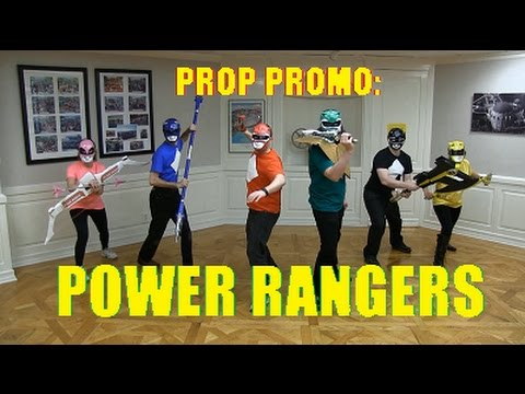 Prop Promo: Mighty Morphin' Power Rangers