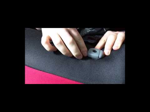 How to cut your custom seat covers to allow for headrests