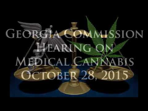 Georgia Commission on Medical Cannabis Hearing October 28, 2015