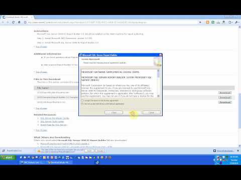 Microsoft SQL Server 2008 R2 Report Builder 3.0 (Installation Video)