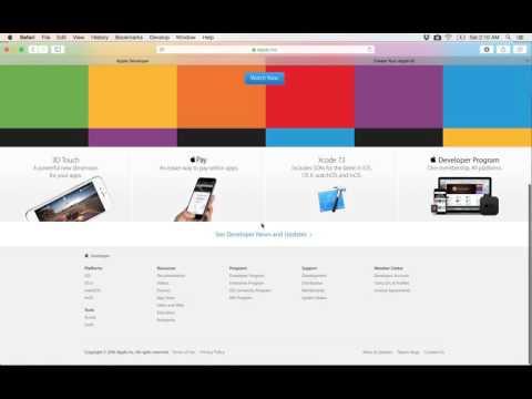 49- Create Apple developer account   انشاء حساب ابل للمطورين