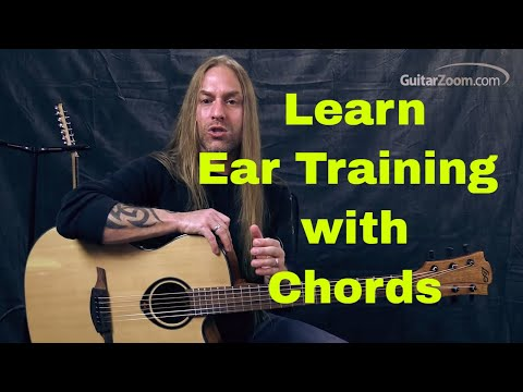 Steve Stine Guitar Lesson - Learn Ear Training with Guitar Chords