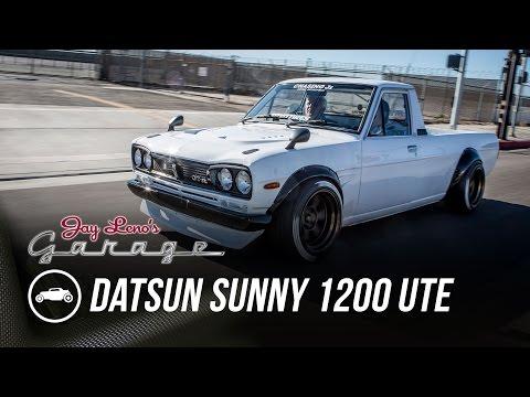Xxx Mp4 1974 Datsun Sunny 1200 UTE Jay Leno 39 S Garage 3gp Sex