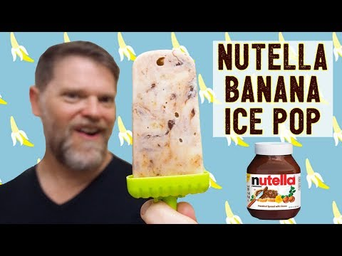NUTELLA BANANA POPSICLE - Greg's Kitchen