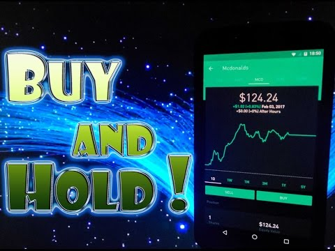 Robinhood APP - BUY and HOLD STOCKS For LONG TERM GROWTH!