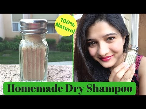 DIY 100% Natural Dry Shampoo   Get silky & shiny hair   Natural Hair growth using dry shampoo   AVNI