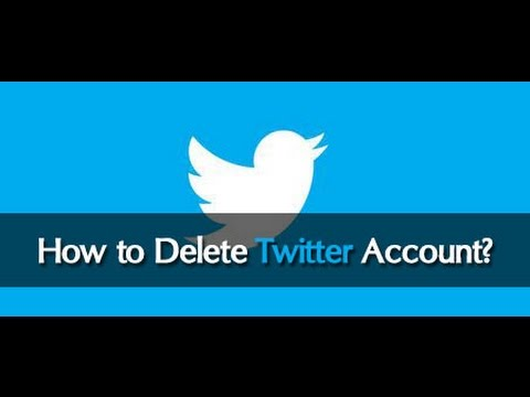 How To Delete Twitter Account Permanently Update 2016