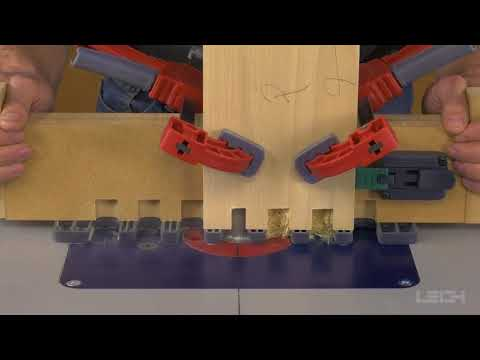 Leigh Box Joint & Beehive Jig Model B975 - Router Table Operation