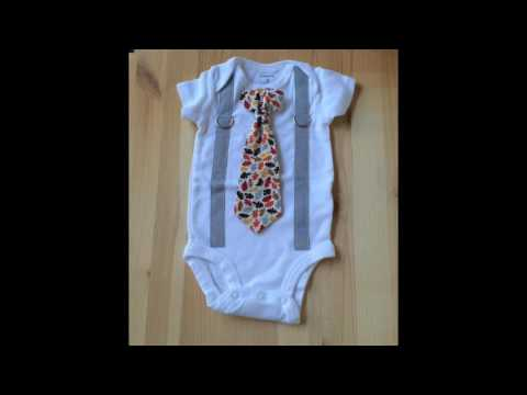 Baby Boy Outfit Ideas: Light Gray Suspenders