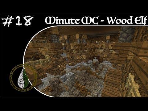 Minute Minecraft - Time Lapse - Wood Elvish Village - Ep.18